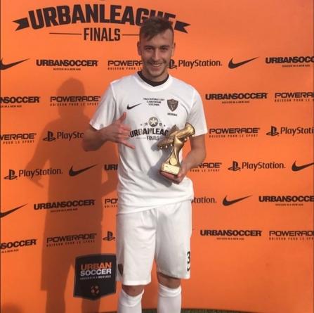 Mathieu Gourgand meilleur buteur de la phase finale de l'Urban League