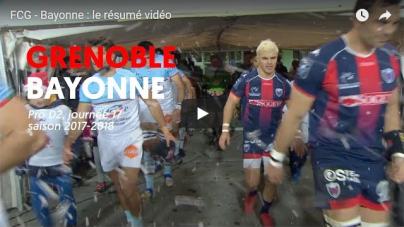 Le résumé vidéo de la victoire du FCG face à Bayonne