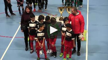 Deux Rochers FC (U11) remporte le Tournoi de Noël