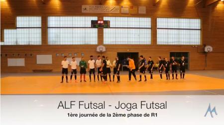 ALF Futsal – JOGA : le résumé vidéo