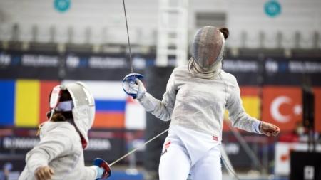 Malina Vongsavady (Meylan Escrime) s'offre une médaillée olympique à Baltimore