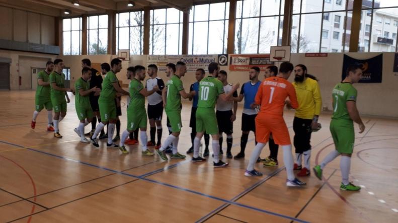 Le Futsal Lac d'Annecy se qualifie pour les 32e de la coupe Nationale