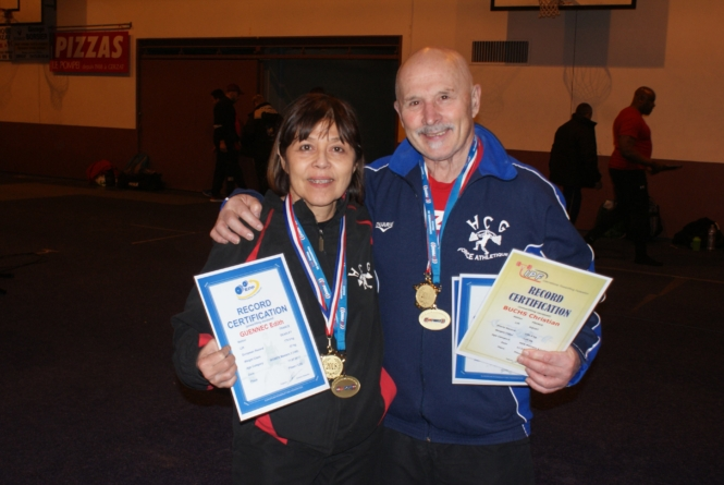 Championnat de France Master : Edith Guennec et Christian Buchs titrés