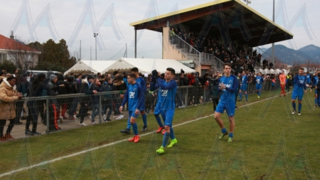FC Echirolles – Olympique de Marseille en images