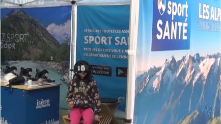 Le Centre Sport Santé Isère s'est arrêté à l'Engie Open de l'Isère