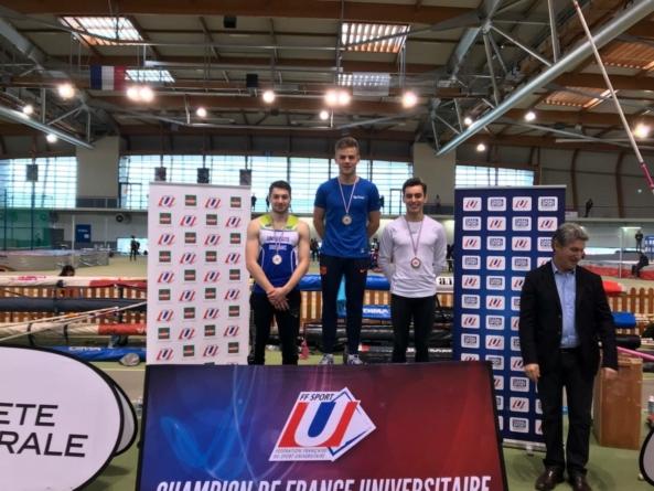 Thibaut Collet champion de France Universitaire !