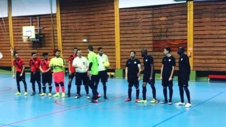 Le choc pour Vie et Partage Futsal