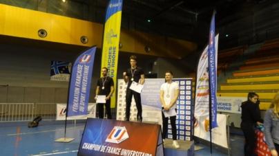 Matthieu Delarive, un nouveau champion de France FFSU en Savate au Grenoble boxe française