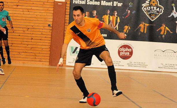 Yannick Gaëtan (Futsal Saône Mont d'Or) : « Tout va vite dans ce championnat »