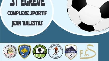 Du beau monde au tournoi U15 du 2 Rochers FC ce 1er avril