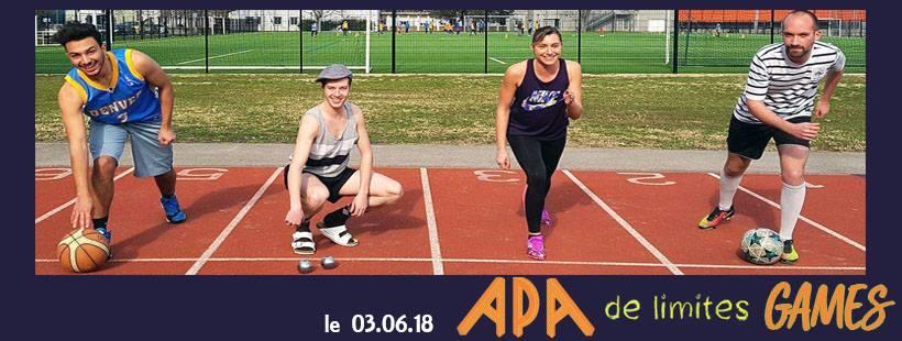 1ère édition des « APA de Limites Games » le 3 juin à Gières