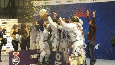 Les Yeti's Grenoble remportent la Coupe de France !!!