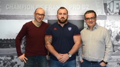 Beka Gigashvili (FCG) Grenoblois jusqu'en 2021