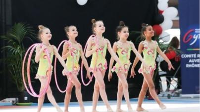 Les jeunes gymnastes grenobloises qualifiées pour les championnats de France