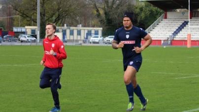 FC Grenoble : les photos de l'entraînement du 5 avril 2018