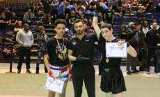 Sirajoudin Markaev champion de France minime de kick boxing