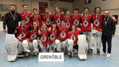 Les Juniors des Yeti's vice-champions de France !