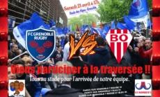 Les Mammouths organisent une haie d'honneur avant FCG – Biarritz