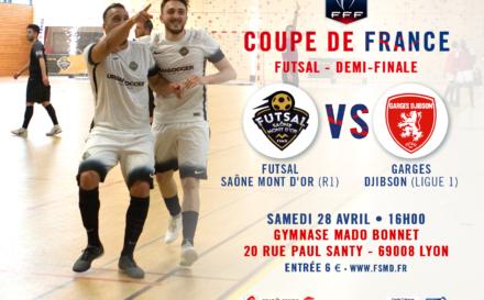 FSMD : les infos sur la demi-finale de Coupe Nationale Futsal