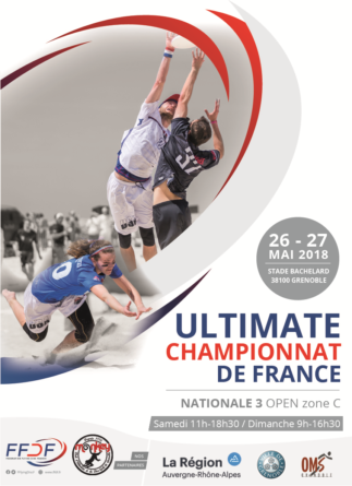 Ultimate frisbee : championnat de France N3 à Bachelard les 26-27 mai