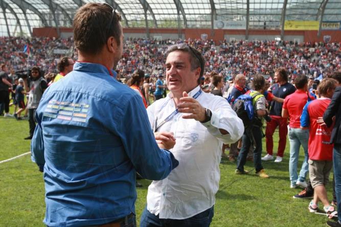 Que faut-il retenir du discours de Michel Martinez et Eric Pilaud (FC Grenoble)?