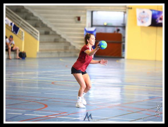 Championnat de France U de handball : la finale féminine en images