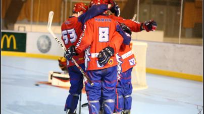 L'équipe de France avec 5 Yeti's pour les championnats du monde de roller-hockey