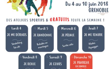 Semaine Sport Santé de Grenoble : coup d'envoi dans deux semaines