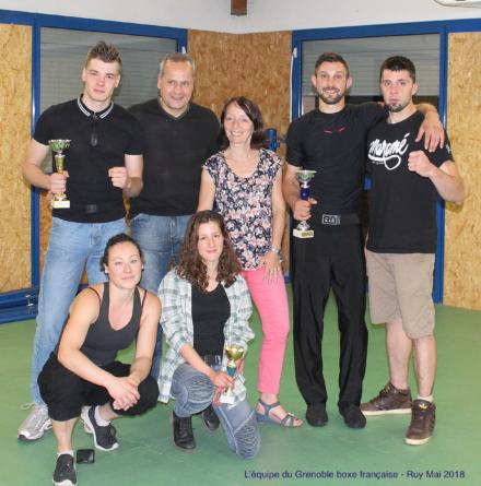 Grenoble boxe française fait un carton au gala de Ruy