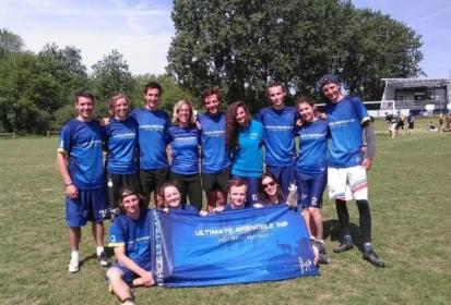 Grenoble INP double champion de France FFSU d'Ultimate