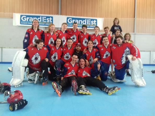 Les Cadets des Yeti's Grenoble se qualifient pour la finale de leur championnat