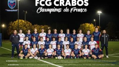 Les Crabos du FCG champions de France !