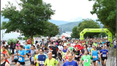 Départ et arrivées(s) de l'édition 2018 des 10 km d'Echirolles