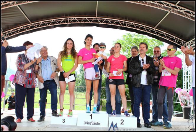 10 km d'Échirolles : les photos des podiums