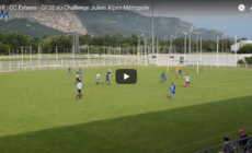U18 : OC Eybens – GF38 au Challenge Julien Alpes Métropole