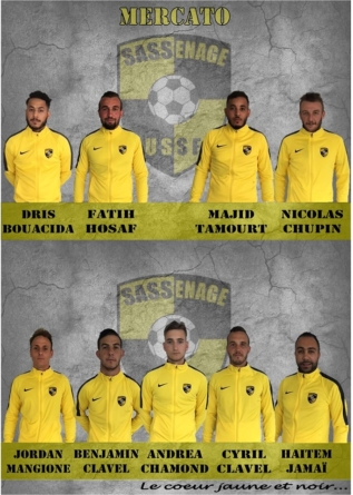 L'US Sassenage annonce 9 recrues