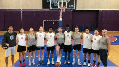 Les basketteuses de l'Université Grenoble Alpes en bronze