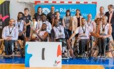Meylan Grenoble Handibasket : un titre régional avant les vacances