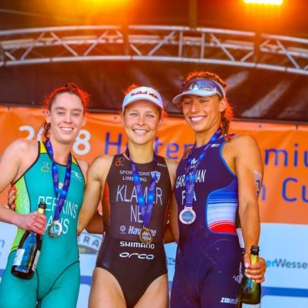 Triathlon – Garabedian troisième de la Coupe d'Europe d'Holten (P-B