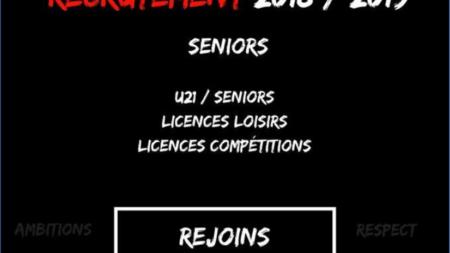 L'Espoir Futsal 38 recrute pour ses équipes Seniors