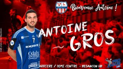 Antoine Gros nouveau joueur du GSMHGUC