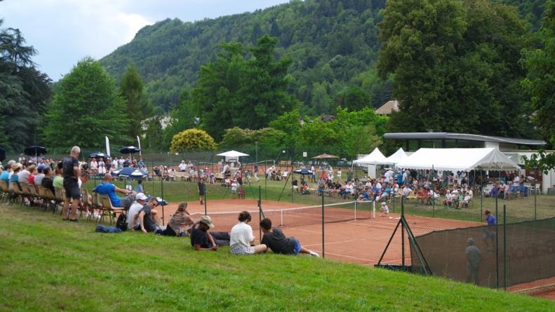 François Virely (TC Uriage) nous présente le tournoi Uriage ITF Eau Thermal 2018