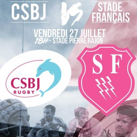 Le CSBJ affrontera le Stade Français en match amical
