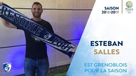 Esteban Salles rejoint le GF38