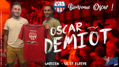 Oscar Demiot rejoint le GSMHGUC