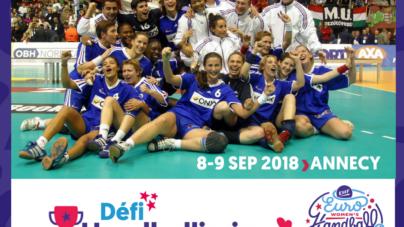 Annecy va accueillir les championnes du monde 2003 pour le «défi handballissime»