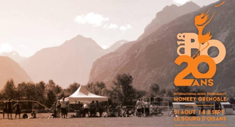 20ème Tournoi International d'ultimate frisbee au Bourg d'Oisans