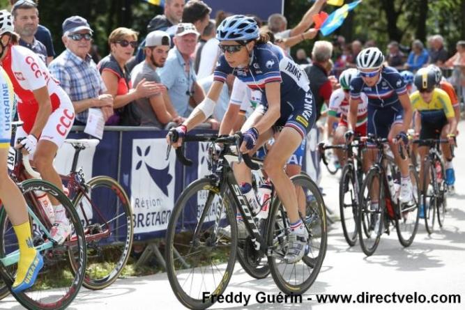 Edwige Pitel sélectionnée en équipe de France pour les Mondiaux de cyclisme