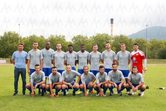 FC Échirolles : le groupe pour la coupe de France