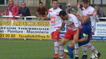 Fin de parcours pour le FC Salaise en coupe de France